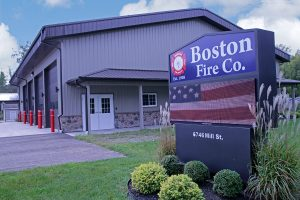 Boston Fire Department, Boston NY