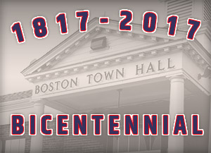 Town of Boston Bicentennial 2017